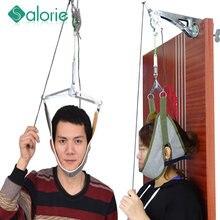 SALORIE cou masseur porte suspendus cervicale cou Traction dispositif tête réglable cervicale colonne vertébrale Massage relaxant civière outils