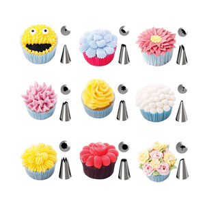 Image 5 - 32pc / set Christmas Pastry Nozzle For Cream Candy Nozzle Cake Pastry Icing Pipe Nozzle Russian Pipe Tip  Stocked