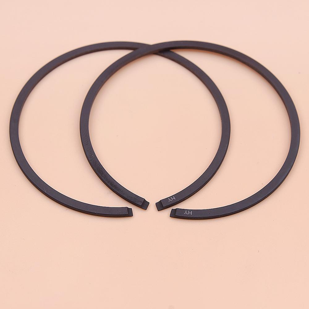 2pcs/lot 52mm X 1.2mm Piston Rings For Stihl 046 MS460 MS461 064 MS650 Husqvarna 372XP Chainsaw Part