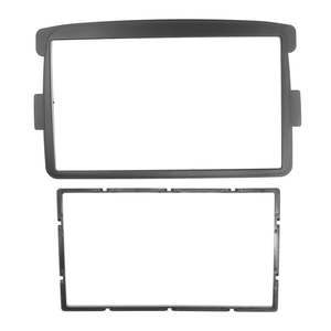 Image 3 - 2 DIN Car Frame Panel Fascia for Renault Duster 2012+ Adapter CD Trim Panel Stereo Interface Radio In Dash Mount Kit