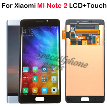 Pantalla LCD AMOLED de 5,7 pulgadas para Xiaomi Mi Note 2, montaje de digitalizador con pantalla táctil