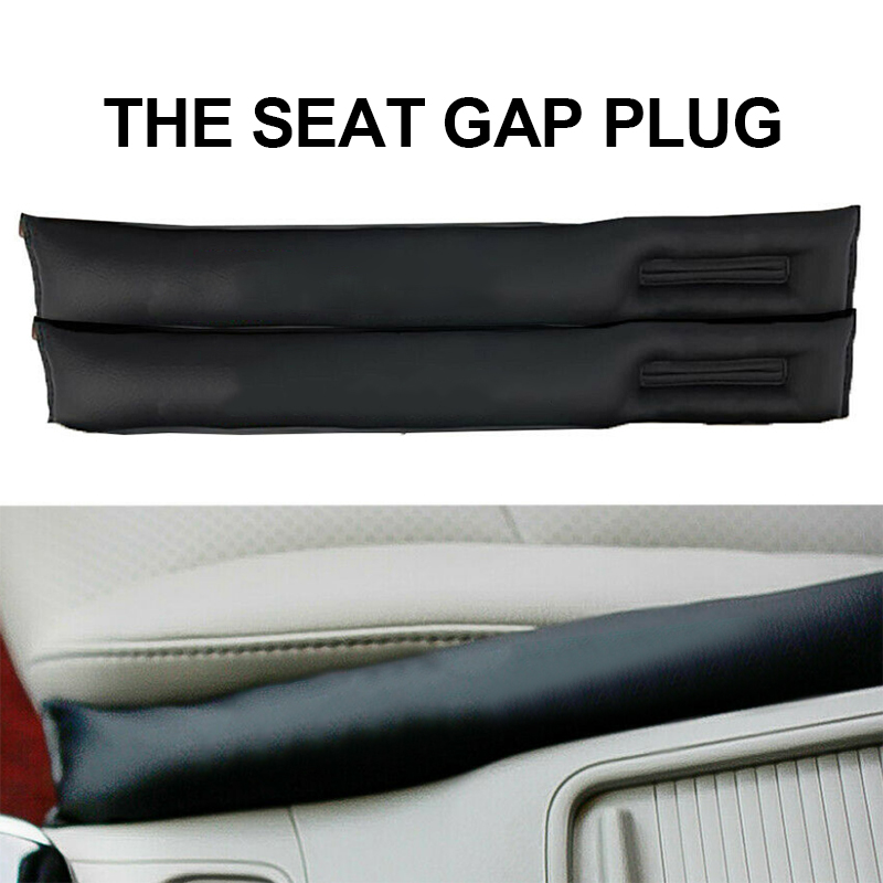 Car Seat Gap Pad Fillers Stopper Leak Cover With Carbon Fiber Seat To Prevent Leakage For BMW Honda Series Car Accessories