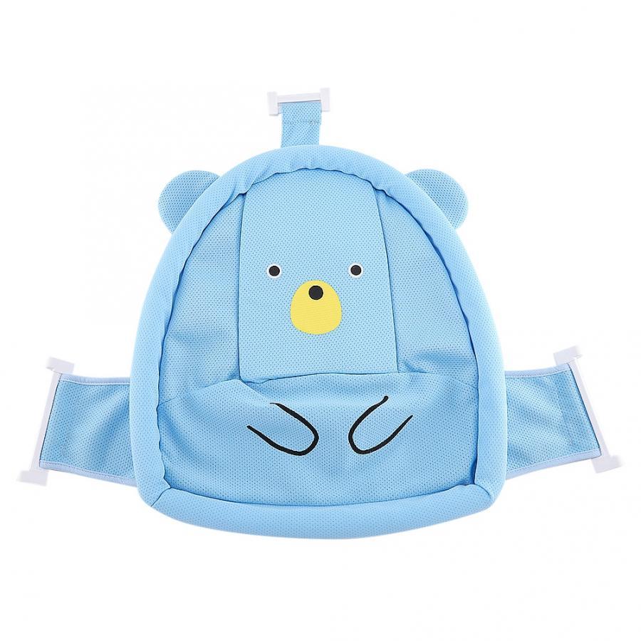 Мягкий коврик для ванной для новорожденного малыша, нескользящий коврик для ванной, подушка для ванной, надувная подушка - Цвет: Shower Mesh
