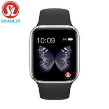 スマート腕時計シリーズ6時計同期通知のためにbluetooth接続リンゴの時計iphoneアンドロイド電話スマートウォッチ男性女性腕時計