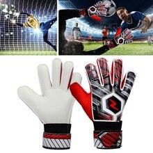 Детские носимые вратарские перчатки противоскользящие перчатки футбольные перчатки вратаря профессиональный футбольный вратарь двойная защита# D9