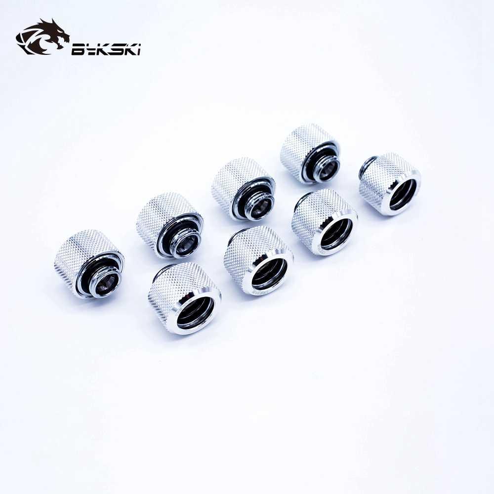 8 шт./лот фитинг для жесткой трубки OD12mm/OD14mm/OD16mm ручной Компрессионный фитинг G1/4' 4 слоя уплотнительное кольцо использовать для PMMA/PETG жесткости трубки