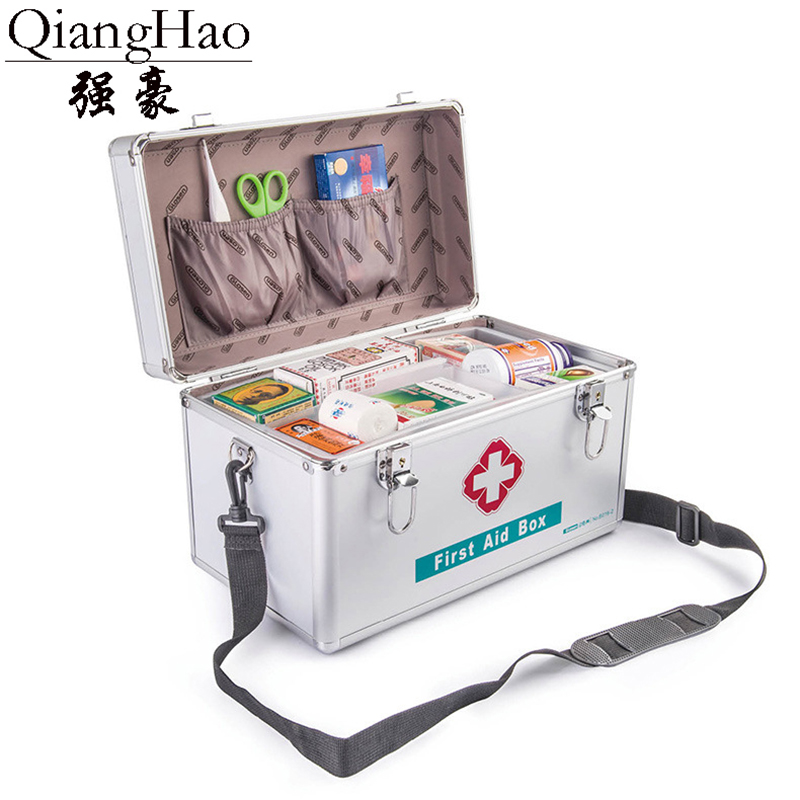 Storage-Box Portable-Handle Travel with for Car Home Camping Medicine Security-Lock Lockable