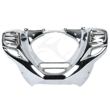 Motorcycle Plate Gold Wing Front Lower Cowl For Honda Goldwing GL 1800 GL1800 2012-2014 F6B 2013-2015 motorcycle rear view mirrors w smoke signal lens for honda goldwing gl1800 f6b 2013 2017 16