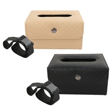 Car-Tissue-Box Back-Hanging Creative Seat for Anti-Skid-Chair Fixed Home