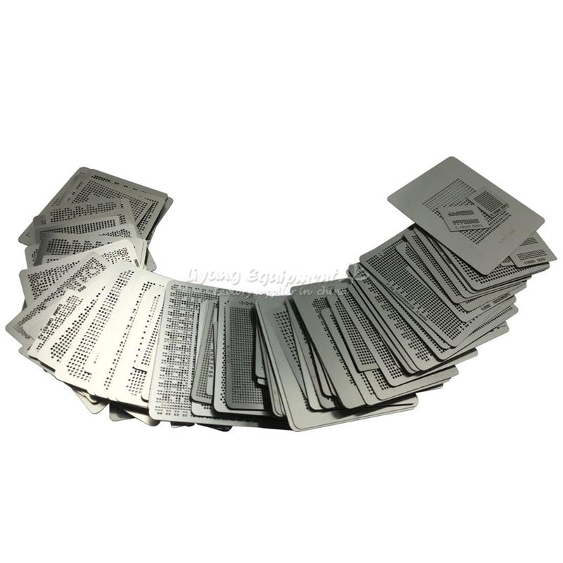 433 Uds calefacción directa de kits de plantillas de reaballing de BGA de soldadura plantilla con titular de jig