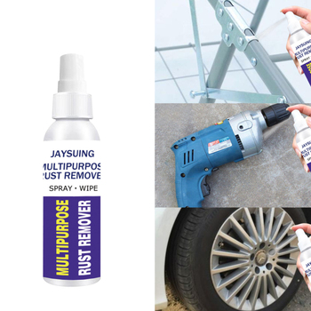 Rust Remover Window Rust Inhibitor Wheel Hub Screw Derusting Spray for Derusting Metal Parts Car Maintenance image