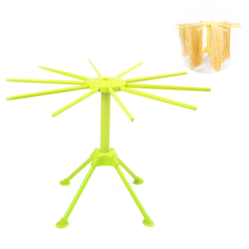 Plastic Spaghetti Pasta Drying Racks Collapsible Noodle Hanging Stand Household Pasta Tools Kitchen Accessories image
