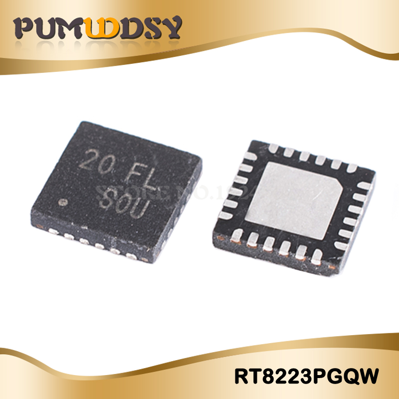 5pcs RT8223PGQW RT8223PZQW <font><b>RT8223P</b></font> 20=EL 20=DF 20=FF 20.. QFN new original laptop chip free shipping IC image