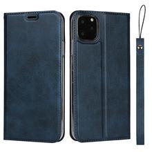 цена For iPhone 11 Pro Max Premium pu leather protective flip case with lanyard & Magnetic Closure for iPhone 11 Pro iPhone X XS Max в интернет-магазинах
