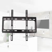 26-55 Inch LCD TV Holder Wall Mount Cold-rolled Steel Bracket for 3D LED LCD Smart Television Universal Black(China)