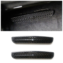 For Mercedes Benz GLE W166 GLS ML GL 2012 2018 Under Seat Floor AC Heat Air Conditioner Duct Vent Outlet Grille Cover Trim