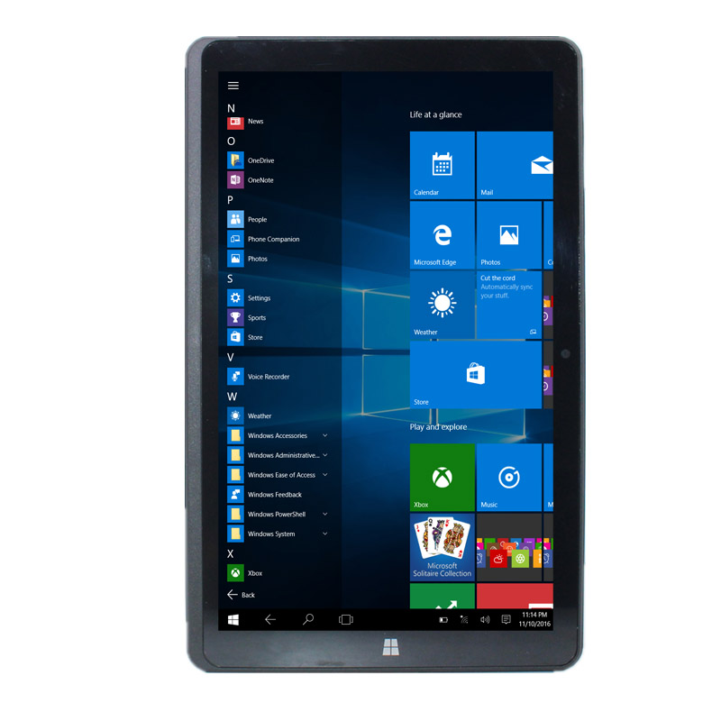 Sales!!8.9 Inch Windows 10 G1-Hero9 Home 1+32GB With Original Dock Keyboard And  Sleeve Case And Blutooth Mouse And 32GB TF Card