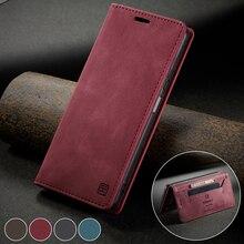 Coque de téléphone portable à rabat magnétique, étui de luxe en cuir pour Huawei P30 Pro P30 Lite P40