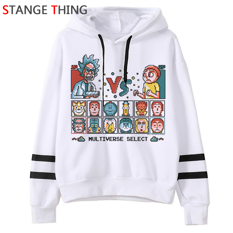 Rick And Morty Season 4 Funny Cartoon Hoodies Men/women Ricky N Morty Graphic Hip Hop Sweatshirt 90s Fashion Hoody Male/female