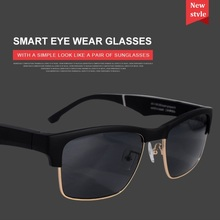 BT5.0 Smart glasses call listen music earphone glasses 2-in-1 intelligent high-tech sunglasses, suitable for Android and IOS