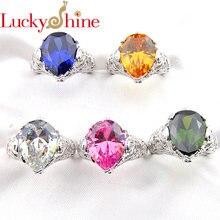 Новинка модные ювелирные изделия luckyshine модное кольцо с