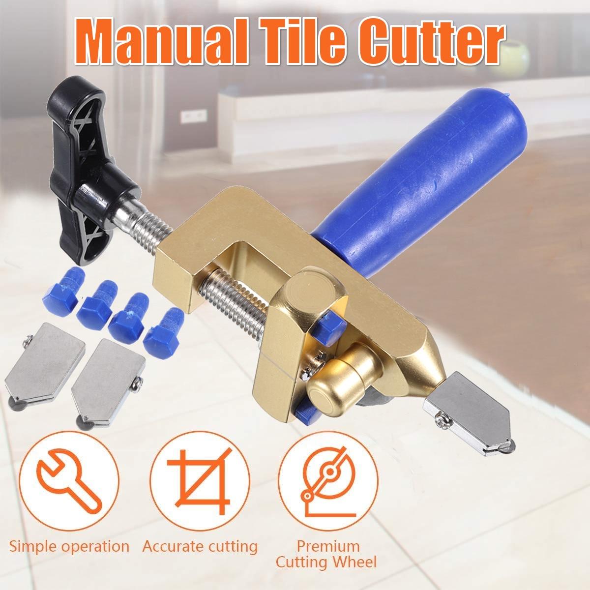 2 In 1 Multifunctional Professional Ceramic Tile Glass Cutting Machine Set Glass Hand Tool Glass Cutting Machine
