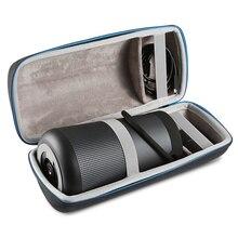 Ses bağlantısı taşınabilir taşıma çantası kılıfı koruyucu saklama kutusu kapak Bose SoundLink Revolve + artı Bluetooth hoparlör