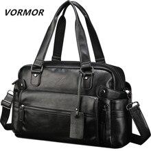 VORMOR PU Leather Bag Business famous designer bags
