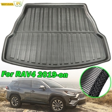 For Toyota RAV4 2019 2020 XA50 Rear Cargo Liner Boot Tray Trunk Mat Luggage FLoor Carpet Tray Waterproof All Weather