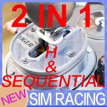 For logitech G29 logitech G27 G923 Gear Shifter Mod Improve feel SIM RACING SEQUENTIAL SHIFTER MOD 2 IN 1