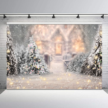NeoBack Winter Snowflake Bokeh Photography Backdrops Fairy Tale Christmas Backdrop Newborn Baby Kids Background Photography free shipping fairy tale digital kids studio photography background backdrop 5x10ft baby children fabric backdrop a 1187