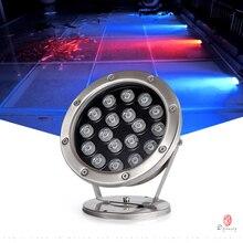 LED Underwater Lights Outdoor Landscape Decorative Spotlight IP68 Rates Fountain Lamp Waterproof Lawn 12V/24V/220V Optional