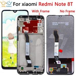 Image 1 - Orijinal LCD için 6.3 Xiaomi Redmi not 8T için LCD ekran ekran değiştirme Redmi Note8t LCD dokunmatik ekran sayısallaştırıcı parça