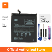 Original Xiaomi BM38 Mi 4S Phone battery For Xiaomi Mi 4S 3210mAh Lithium Polymer goowiiz розовый mi 4s