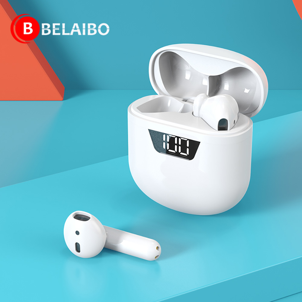 Mini TWS Touch Control Bluetooth 5.0 Earphones Wireless 9D Stereo Headphones Noise Cancelling Gaming Headset For Smartphones