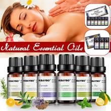3/6Pcs/set 100% Pure Natural Aromatherapy Oils Kit 10ml For Humidifier Water-sol