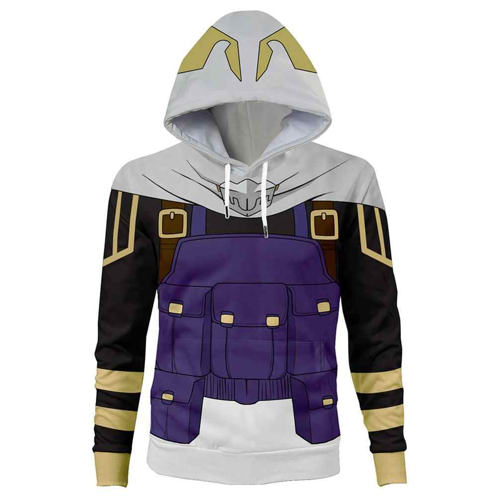 Mijn Hero Academia Cosplay Suneater Tamaki Amajiki 3D Print Kap Sweatshirt Hoodie Trui Tom Nook Hoodie
