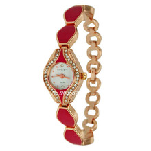Fashion Korea Style Pink Mini Watches Women Womens Crystal Casual Ladies reloj mujer montre femme