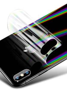 Phone-Skin-Sticker 8plus-Protector Apple Transparent Gradient Aurora iPhone Xs 8-Plus