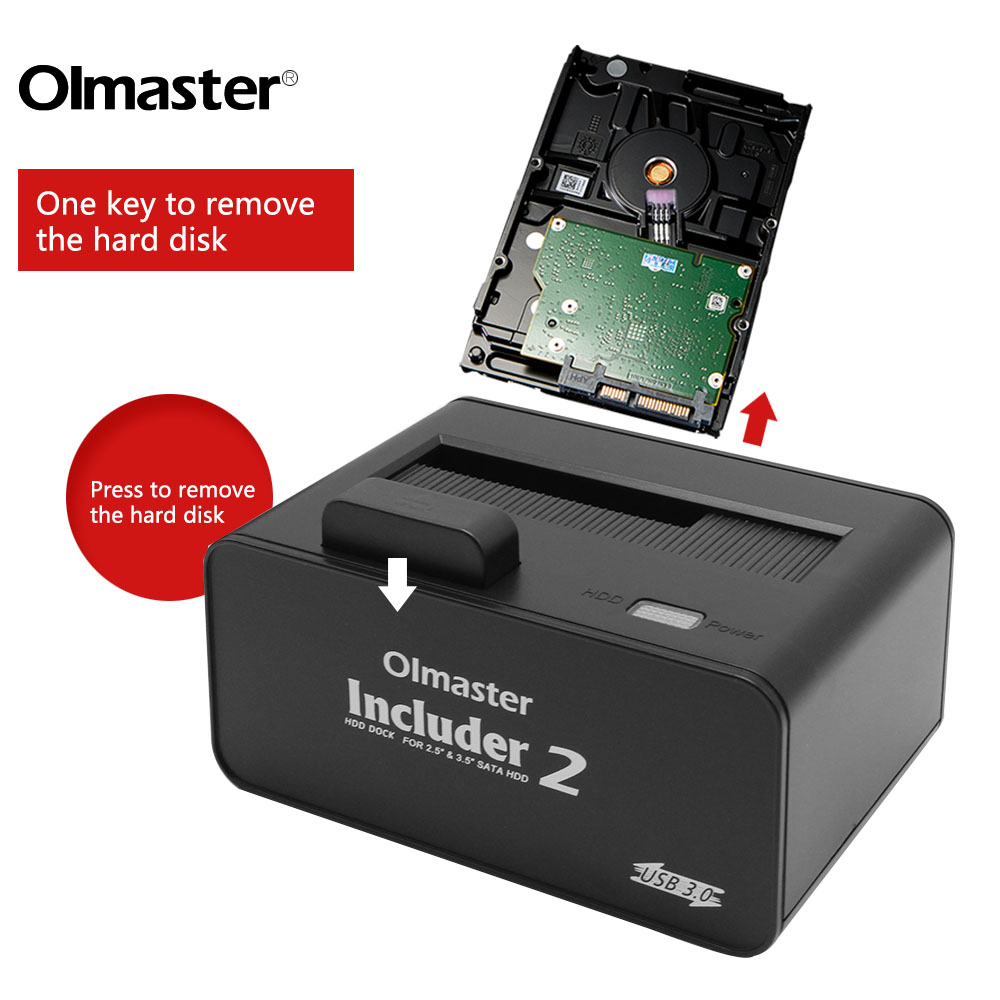 USB3.0 HDD Dock Station für SATA 2,5
