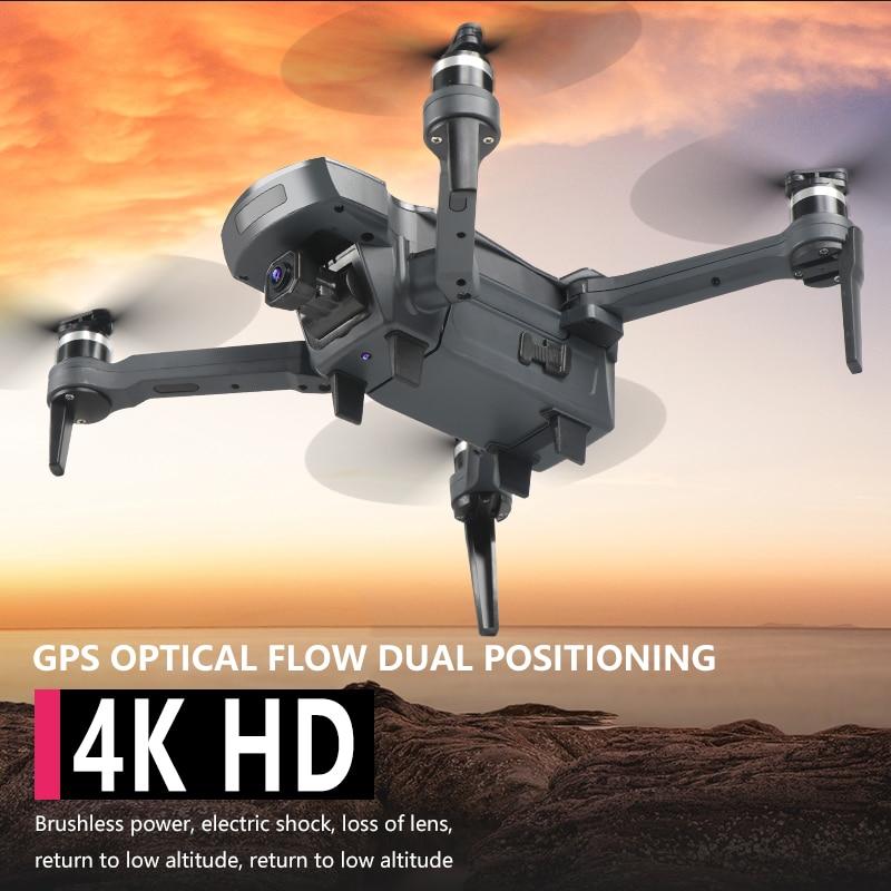 XKJ Новый Дрон K20 бесщеточный мотор 5G gps Дрон с 4K HD двойной камерой Профессиональный складной Квадрокоптер 1800 м радиоуправляемая игрушка - 2