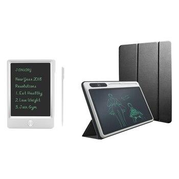 2 uds. Bloc de notas electrónico gráfico Lcd luz para tableta Digital dibujo a mano pizarra blanca 5 pulgadas y 10,1 pulgadas