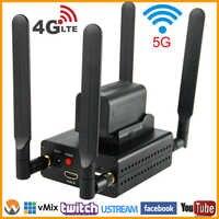URay 4G LTE 1080P sans fil HDMI à IP encodeur vidéo H.264 HDMI encodeur de Streaming H264 HDMI RTMP UDP encodeur WiFi pour Live, IPTV
