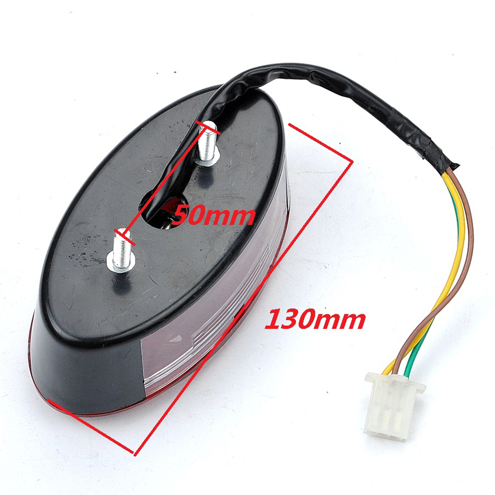 Lamps Tail Light For Monkey 3-wire Weatherproof Scooter Brake Taillight