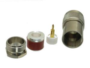 Image 2 - 10 Uds. De conector N macho, abrazadera de enchufe RG8 LMR400 RG213 RG165 RG393 RG214 Adaptador Coaxial RF recto