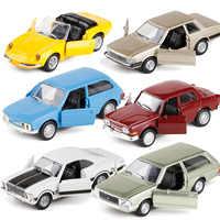 AOSST 1:38 alta simulación Retro Vintage brasileño clásico CarAlloy Pull Back coche juguetes colección modelo de buena calidad