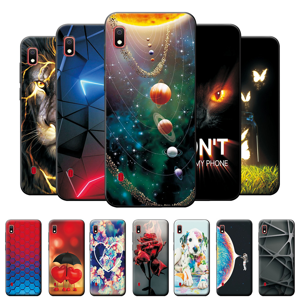 Case For Samsung Galaxy A10 Case A105F A105FN Back Cover For Samsung A10 Silicone Soft TPU Fashion Case For Samsung A10 A 10