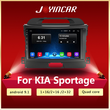 Car Android 9.1 2 din car multimedia player car dvd for KIA sportage 2011 2012 2013 2014 2015 headunit gps navigation Radio image