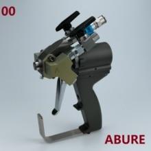 P2ปืน,A5สเปรย์ปืนABRA500พร้อม00ผสมChamberสำหรับLow Flow Outputสเปรย์โฟมโพลียูรีเทนการใช้งาน