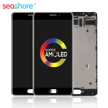 5.7ORIGINAL For MEIZU Pro 7 Plus LCD Touch Screen Digitizer Assembly For Meizu Pro7 Plus Display with Frame Replacement AMOLED 4 6original for sony xperia z3 compact lcd touch screen digitizer assembly for sony z3 mini display with frame replacement z3c